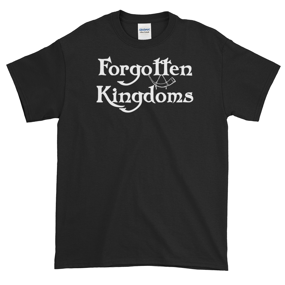 Image of Forgotten Kingdoms logo shirt