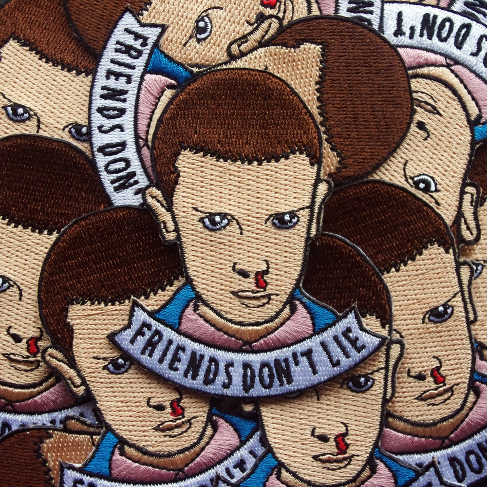 Image of Friends Don't Lie Patch
