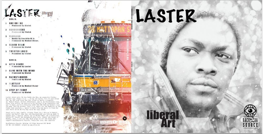 Image of Laster - Liberal Art (90's Unreleased Album, LP) PRE ORDER NOW