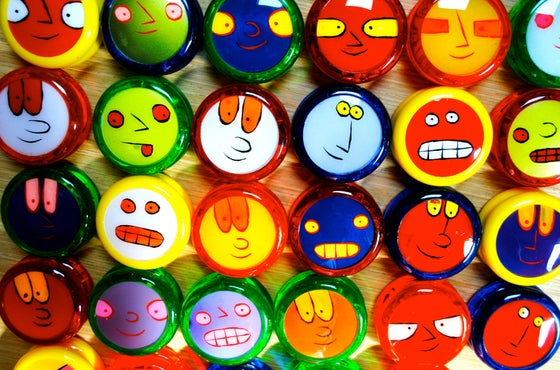 Image of Face in the Crowd YO-YOs!  NEW COLORS! (RESTOCK!)