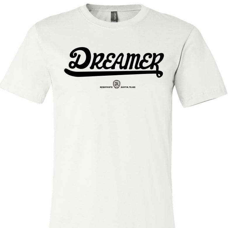 Image of DREAMER - FRONT Lettering only