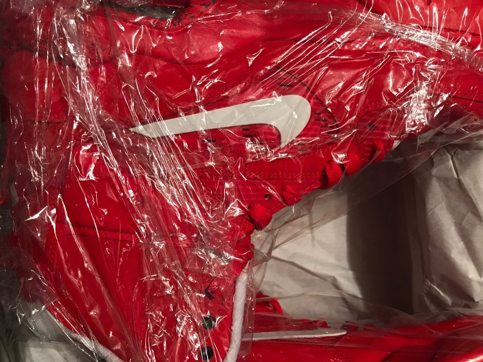 Image of Nike Air Command FORCE University Red 684715-600 Size 12.5 MINT - WORN ONE TIME