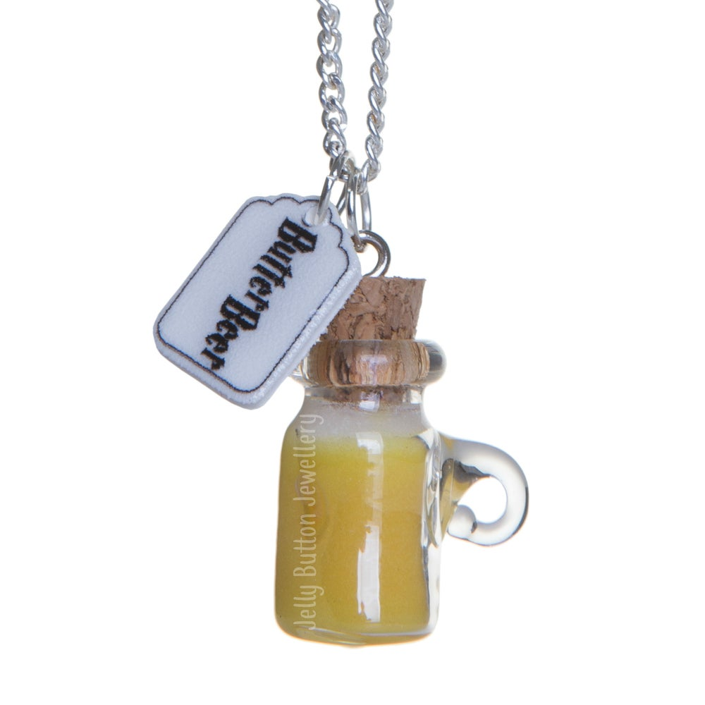 Image of ButterBeer Bottle Necklace