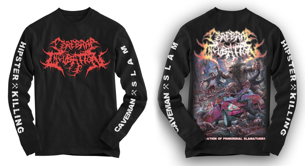 Image of CEREBRAL INCUBATION - Bifurcation Of Promordial Slamateurs Hoodie [pre-order]