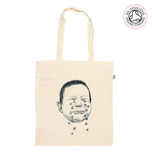 Image of Cry Hard Tote Shopping Bag (organic)
