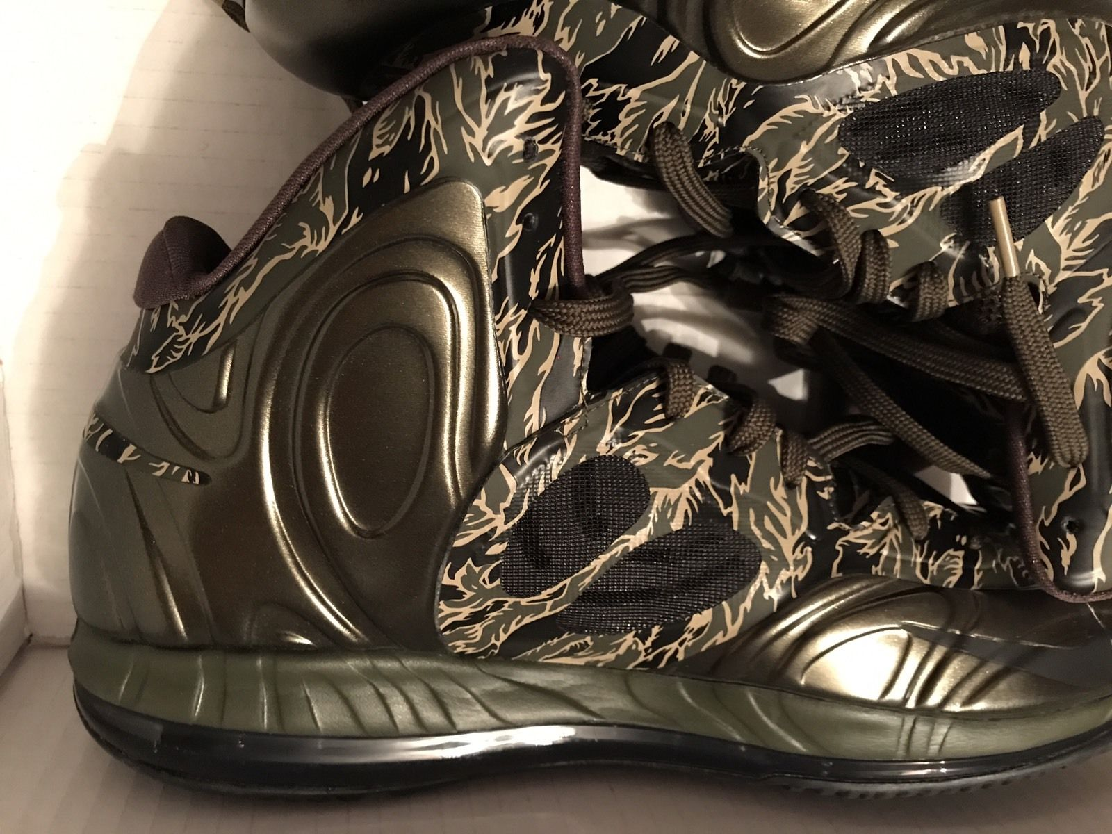 """Image of Nike Hyperposite """"Tiger Camo"""" - Size 13 - New"""