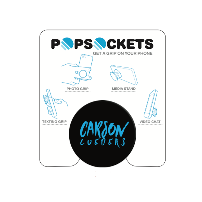 Image of Carson Lueders Turquoise Pop Sockets