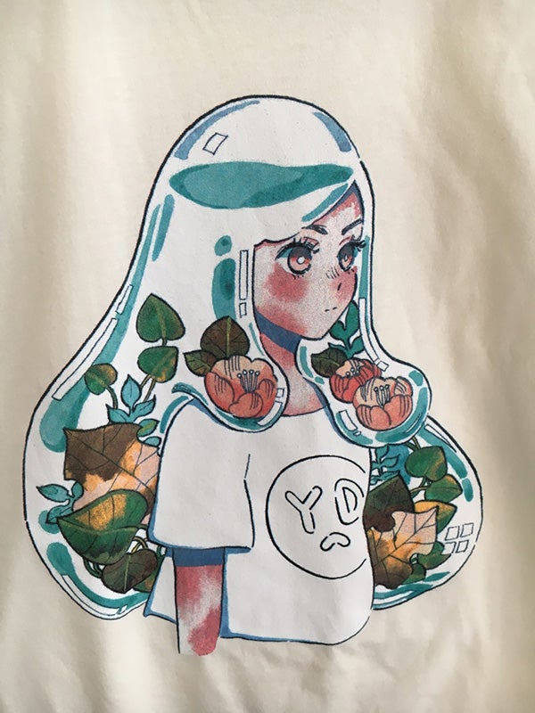 Image of AQUARIUM GIRL t-shirt by meyoco