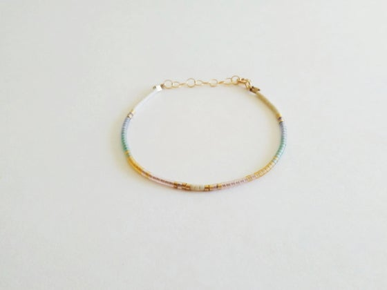 Image of Arc beaded bracelet
