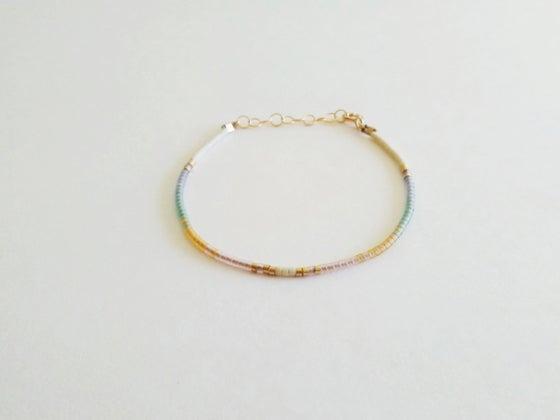 Image of Arc beaded bracelet