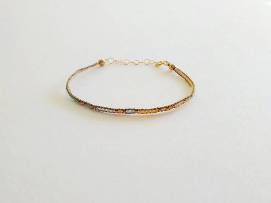 Image of Fantasy woven bracelet