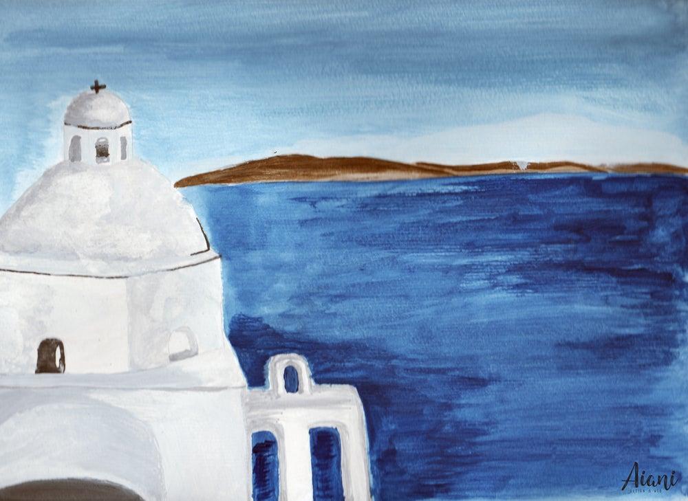 Image of Santorini, Greece