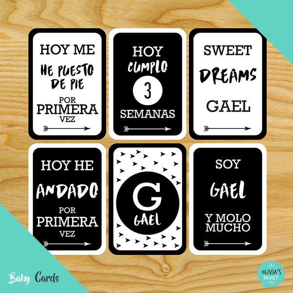 Image of Baby Cards Modelo Pop Niño (Varios colores)