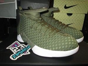 "Image of Air Jordan XV (15) Retro ""PSNY - Olive"""