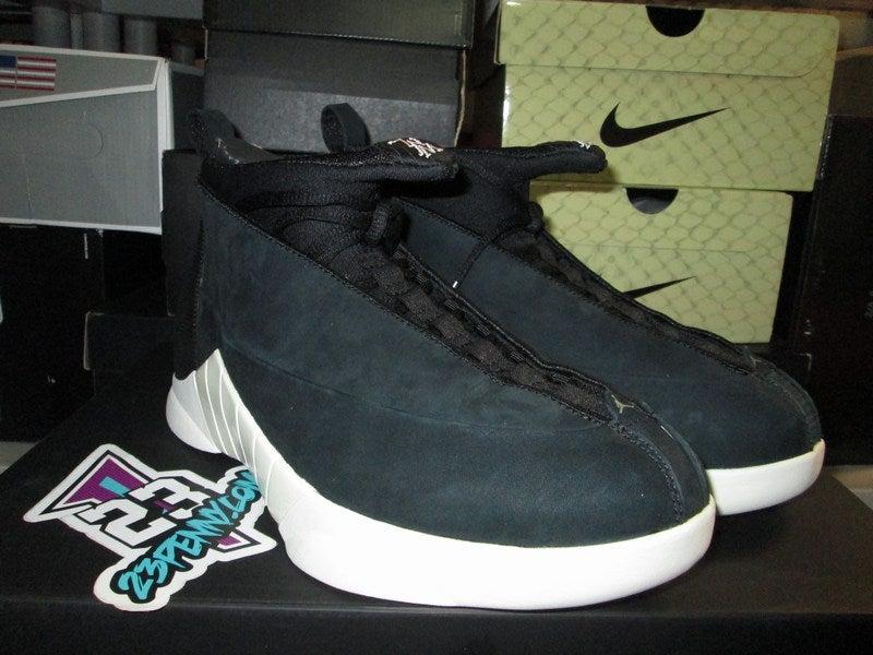 "Image of Air Jordan XV (15) Retro ""PSNY - Black Suede"""