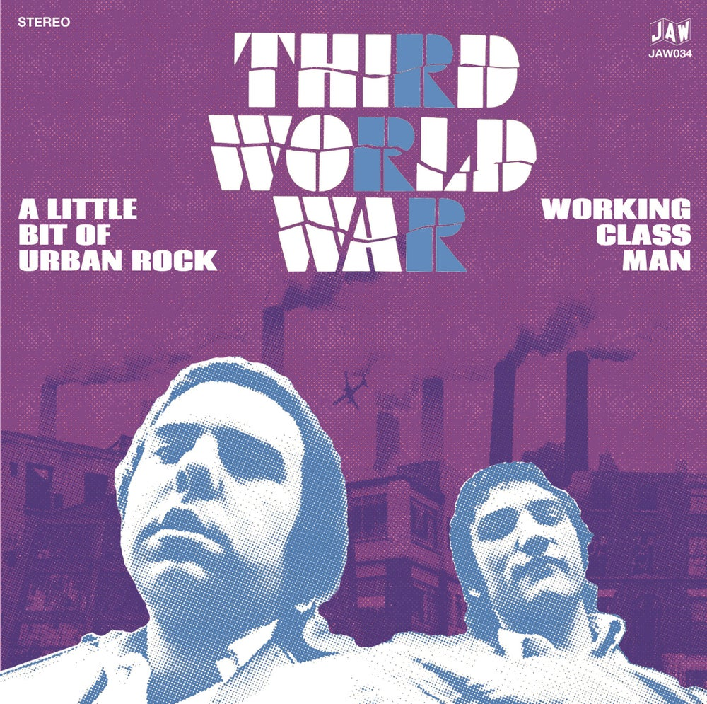 "Image of THIRD WORLD WAR ""A Little Bit Of Urban Rock"" 7"" single (black, gray, blue, or test pressing)"
