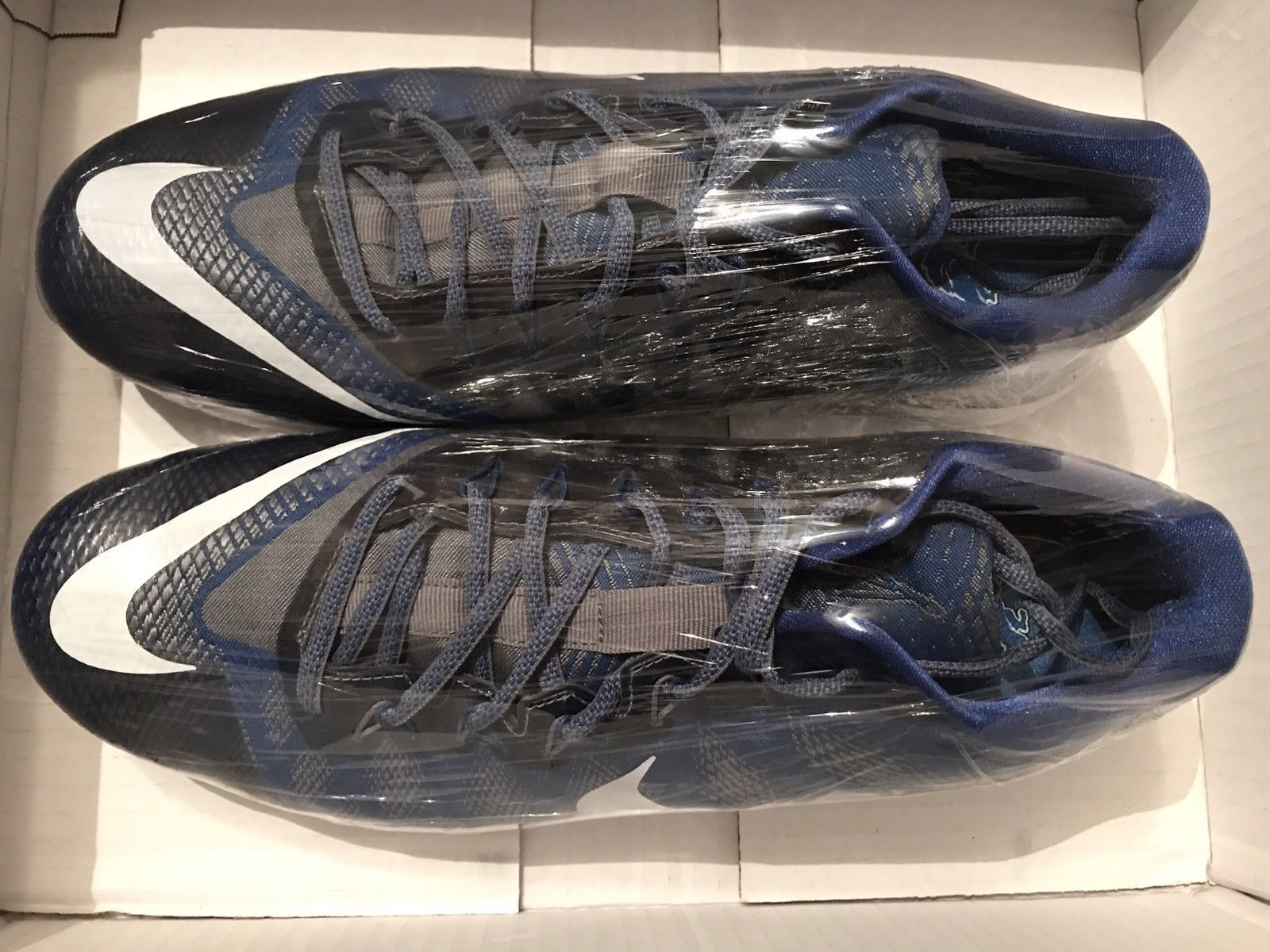 Image of Nike CJ3 Calvin Johnson #81 Lions Flyweave Trainer Men's Size 13 Used Once
