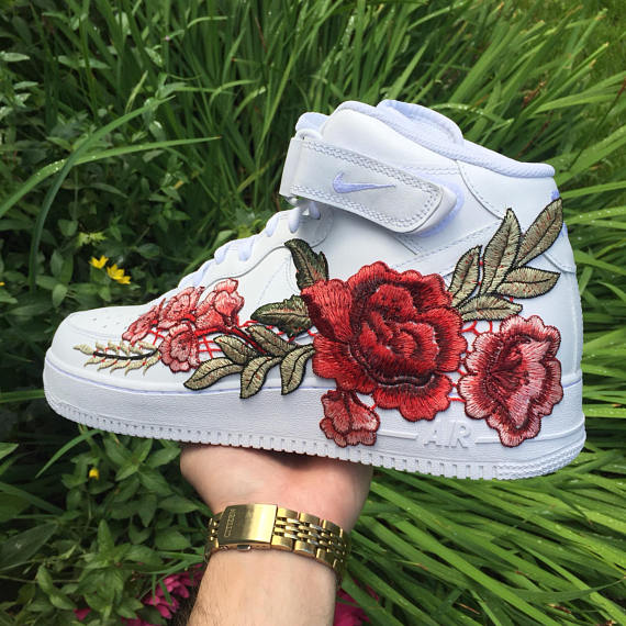 Image of Nike Air Force 1 High Winter Rose