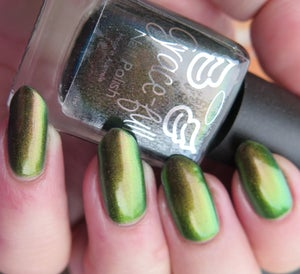 Image of Book of Shadows - green to gold to copper multichrome