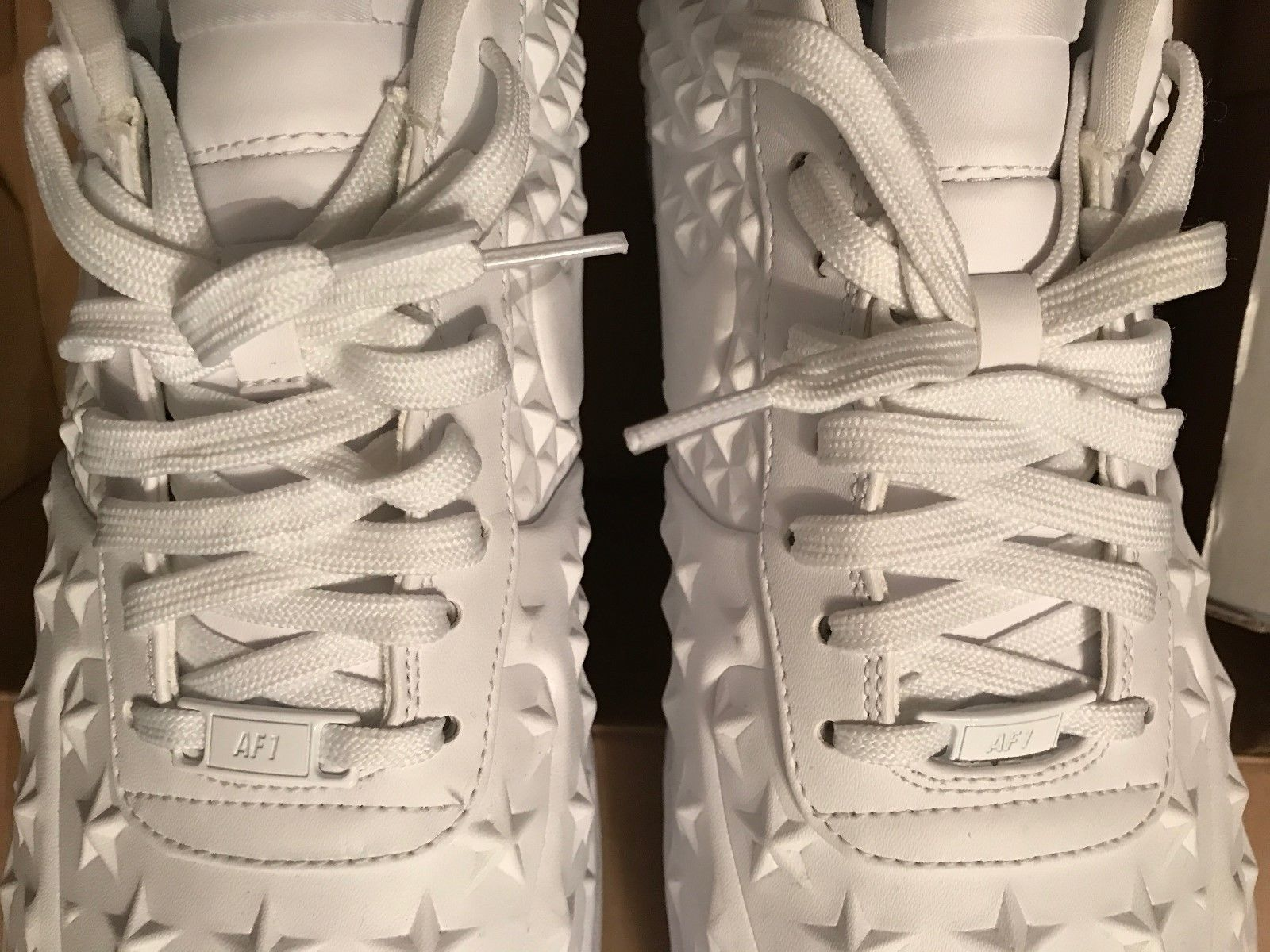 Image of NIKE AIR FORCE 1 ONE LV8 VT INDEPENDENCE DAY STAR PACK - Size 13 - Used Once