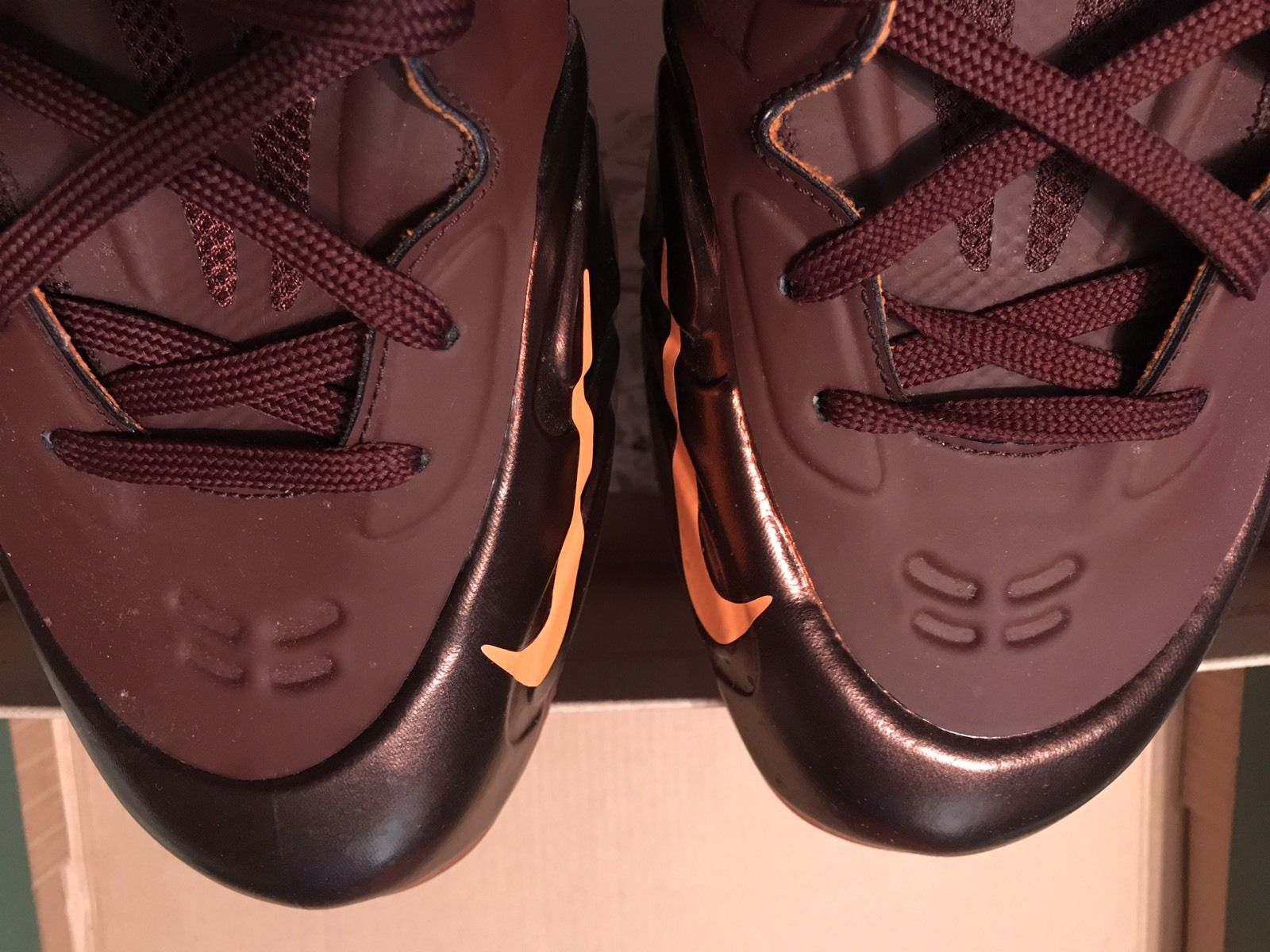 "Image of NIKE AIR MAX HYPERPOSITE ""TEAM BROWN"" Size 13 Used"