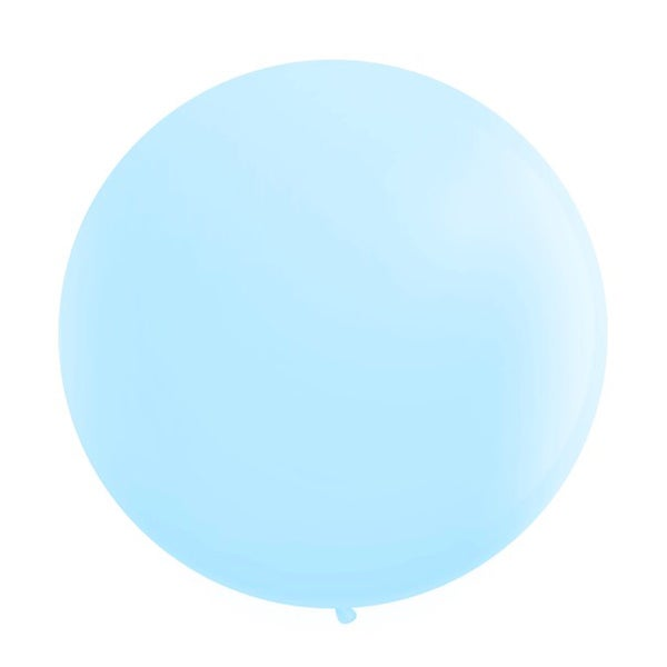 Image of Giant Round Balloons - Powder Blue
