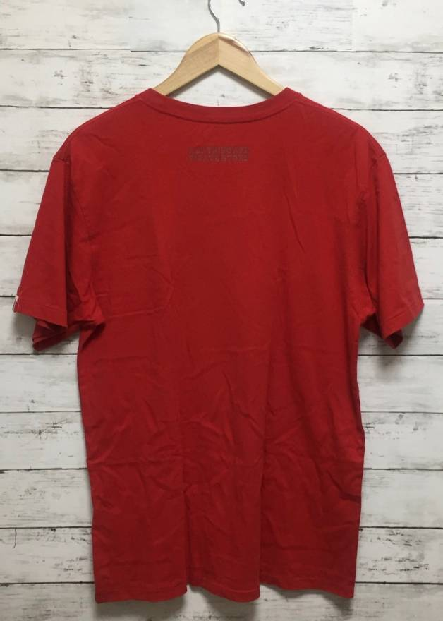 Image of Bape Japan Exclusive Pirate Store T-Shirt Red