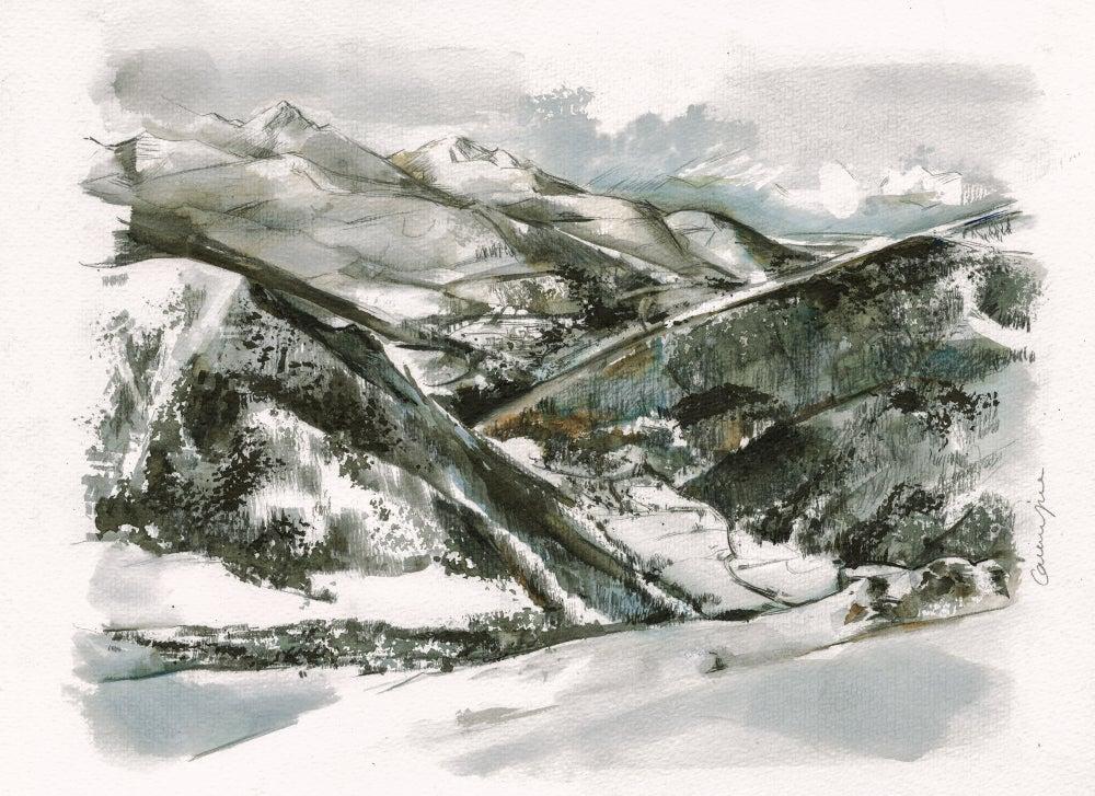 Image of Valsertal von Vennspitze