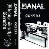 """Image of BANAL """"Contra"""" Cassette (Scythe - 052)"""