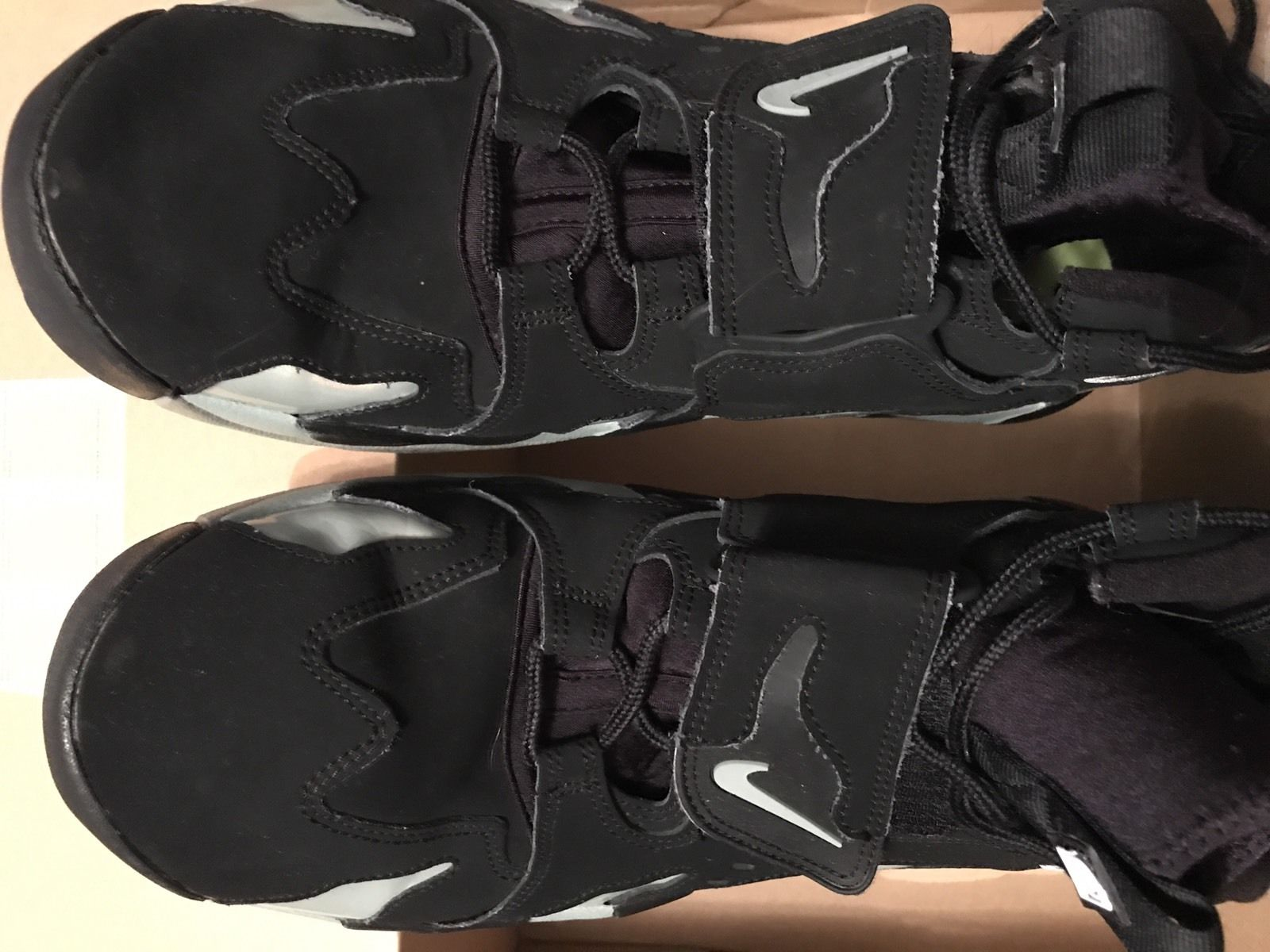 Image of Nike Air dT Max 96 Deon Sanders - Black/ Mica Green/ Volt -Size 13 - Used