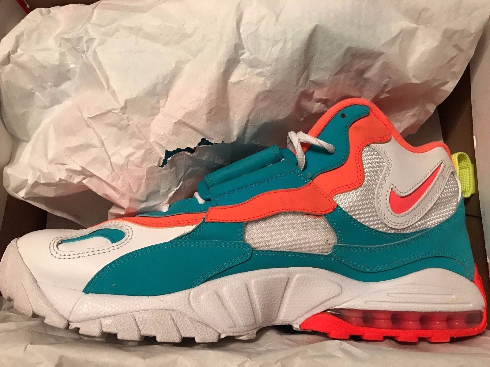 Image of Nike air max turf - Dan Marino - Miami - Size 13 - Used