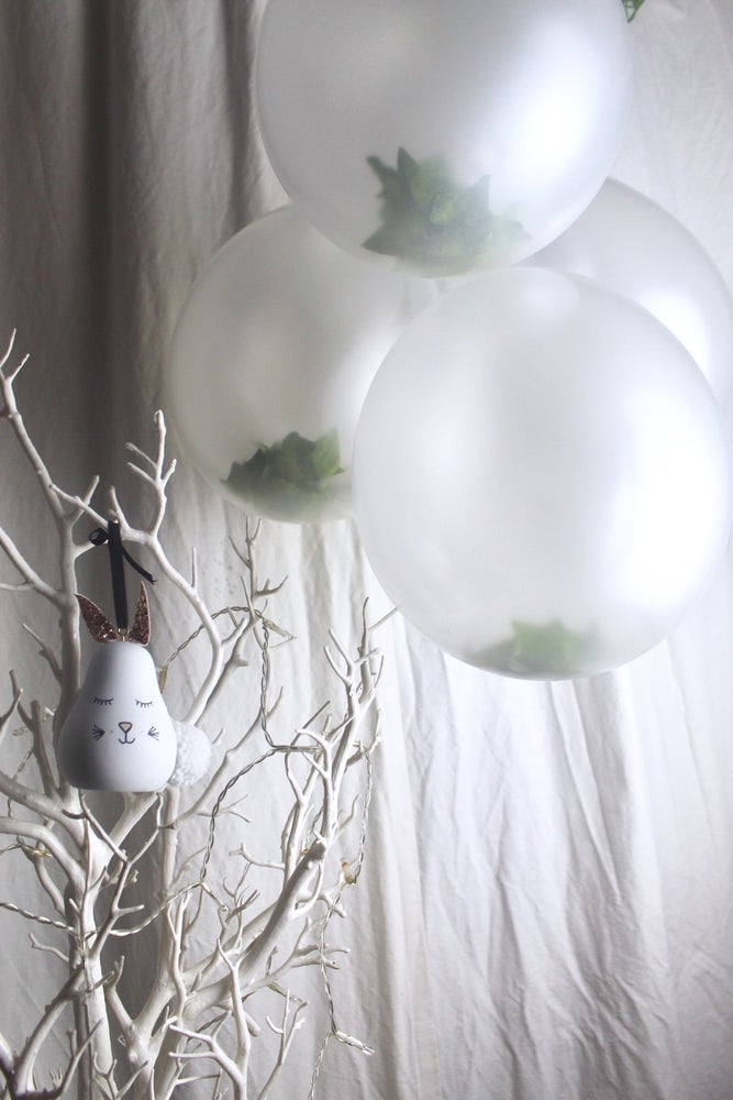 Image of Ivy filled balloon
