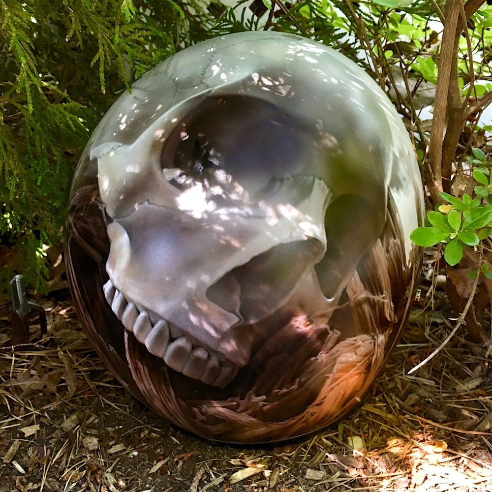 Image of Airbrushed Bell Helmet.