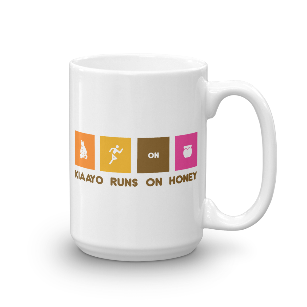 Image of Kiaayo Runs On Honey (Mug)