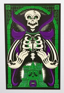 Image of Scare Glow (Glow-in-the-Dark) Screen-Print