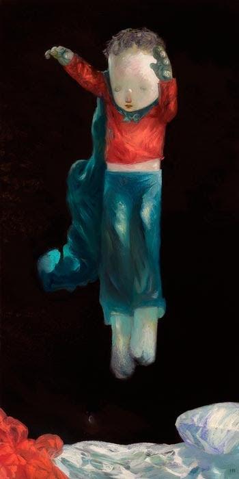 "Image of ""Midnight Jaunt"" <br>Original Painting <br>by Joe Sorren"
