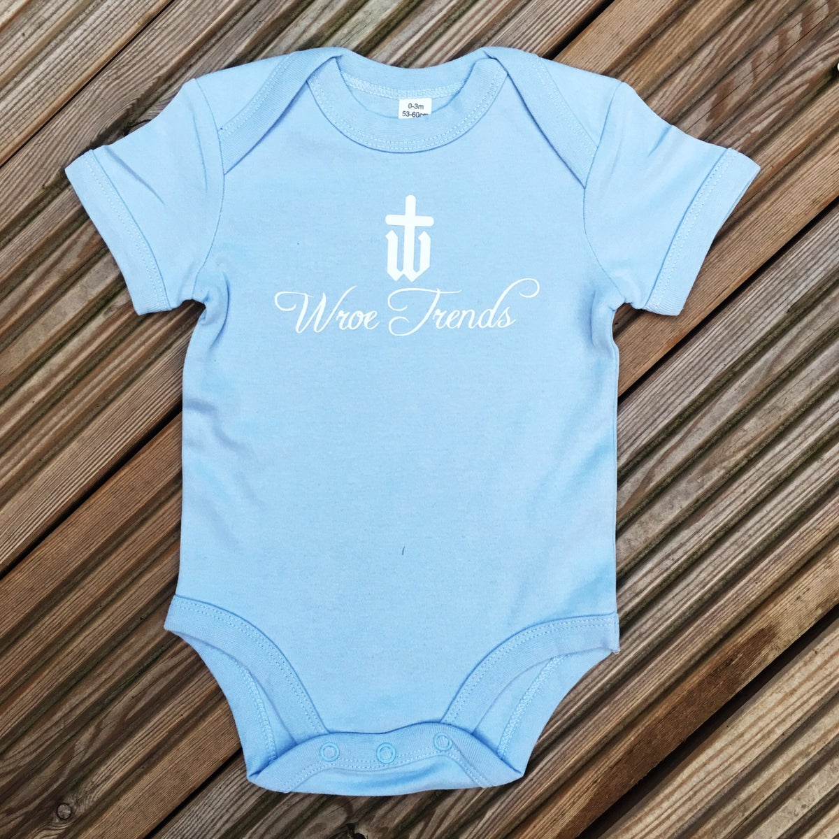 Image of BABY GROW • BLUE