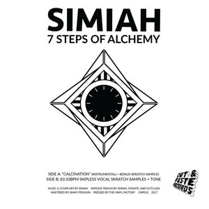 Image of Simiah - 7 Steps Of Alchemy (CNP010)