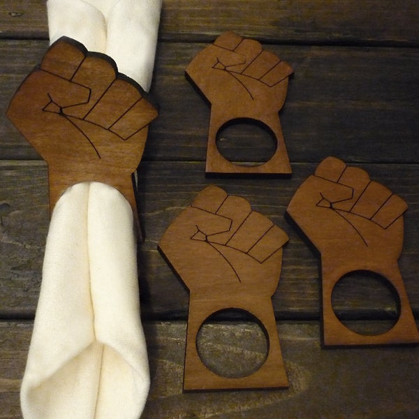 "Image of ""The Revolution"" Napkin Rings (Sets of 4,8, 12)"