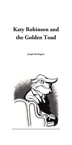 Image of Katy Robinson and the Golden Toad