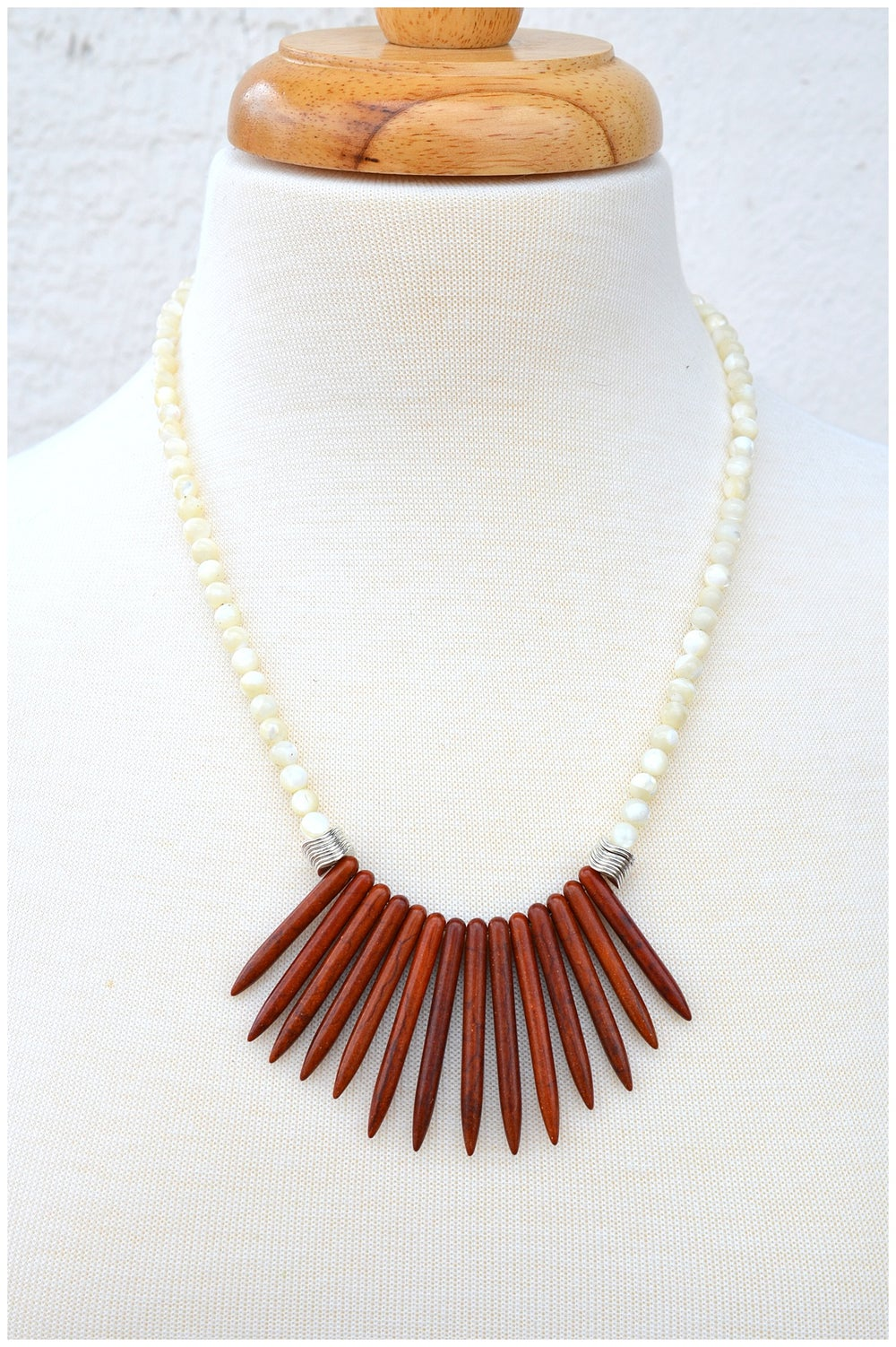 Image of Spike Statement Necklace
