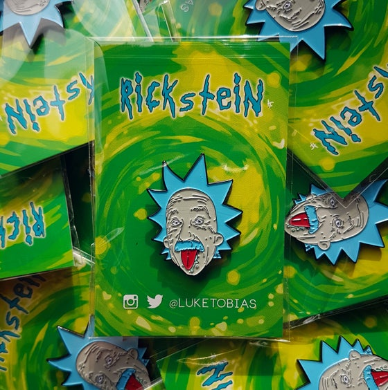 Image of Rickstein Soft Enamel Pin