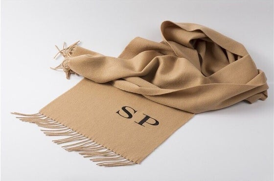 Image of Cashmere Personlised Scarf