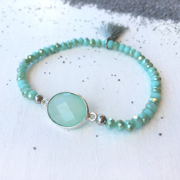 Image of Armband Ibiza Mint Green