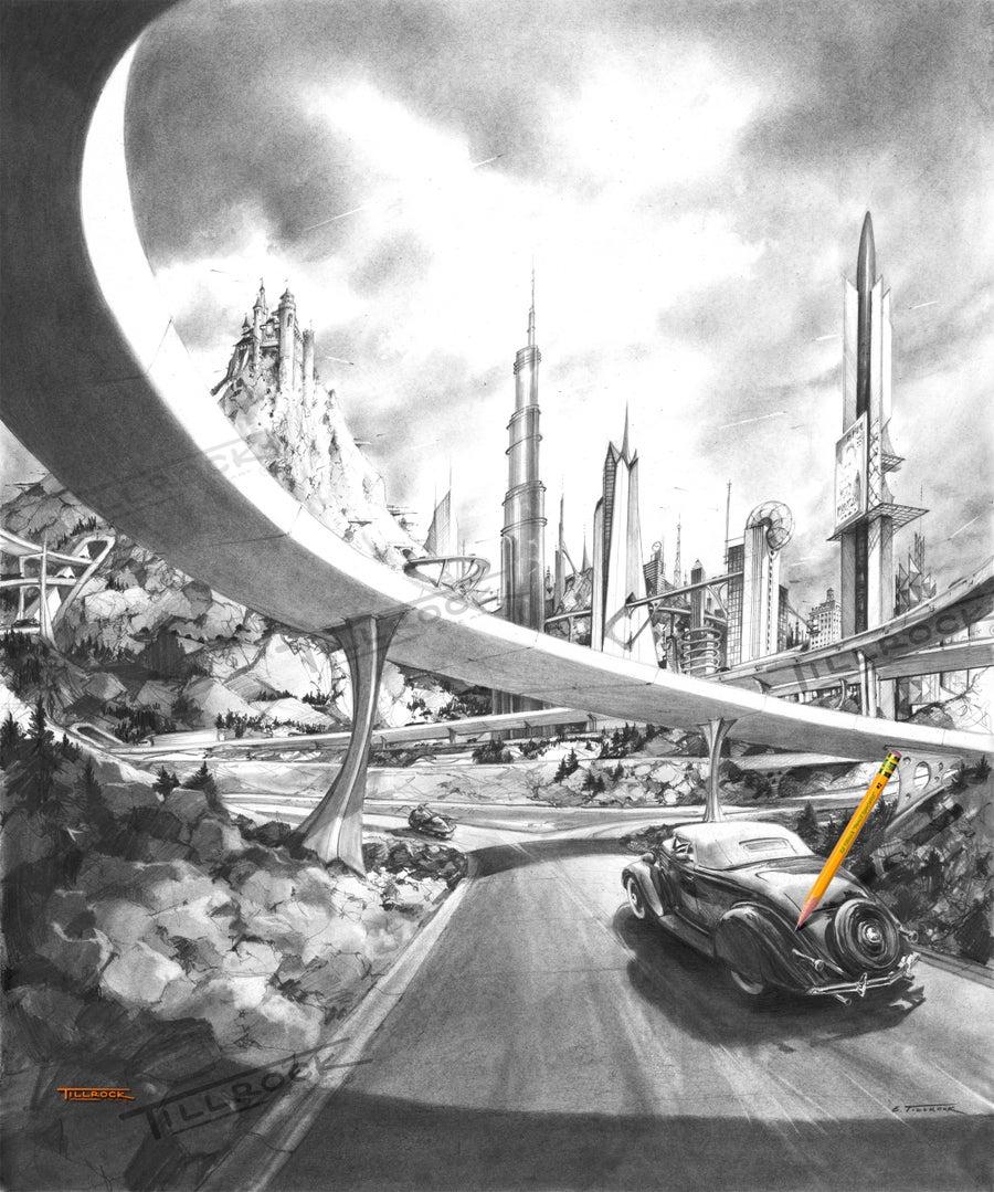 "Image of ""Clock Speed"" 11x17 Print"