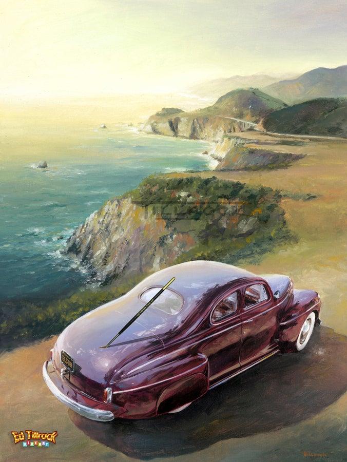 """Image of """"El Sur Grande"""" Color 11x17 Print"""