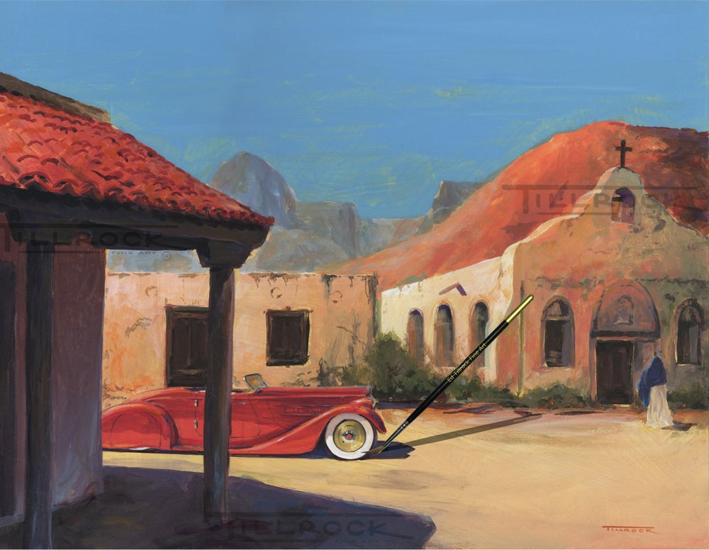 "Image of ""Mas Hermosa"" Color 11x17 Print"