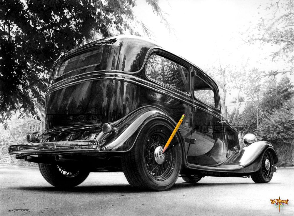 Image of Brad's '33 Tudor Signed and Numbered 20x24 Giclee' Print