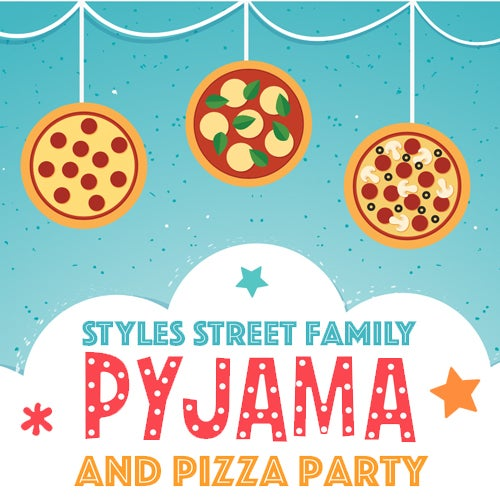 Image of PYJAMA & PIZZA NIGHT  Sat 4th November 4 - 7pm