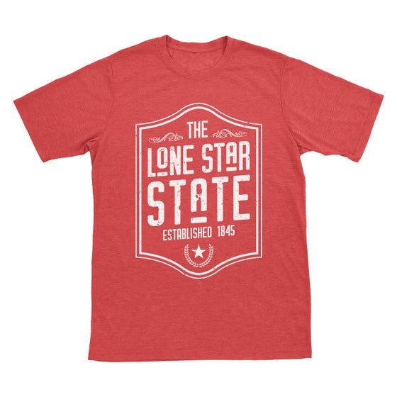 Image of Lone Star State - Red